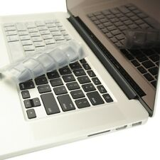 """SILVER Silicone Keyboard Cover for NEW Macbook Pro 13"""" A1425 with Retina display"""