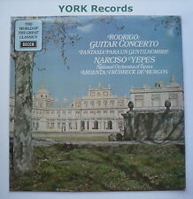 SPA 233 - RODRIGO - Guitar Concerto YEPES National Orch Of Spain - Ex LP Record