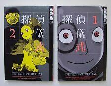 Manga-Detective Ritual (Tokyopop; TB.) 1-6 cmpleto. (z1)