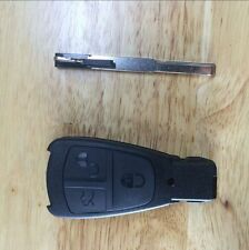1998 1999 2000 MERCEDES BENZ 3Button Keyless Remote Smart Key Shell Insert Blade