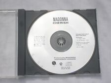 Madonna -Cherish CD Single Promo  RARE  PRO-CD-3608