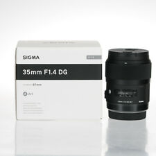 BRAND NEW SIGMA ART 35MM F1.4 DG HSM LENSES FOR CANON MOUNT