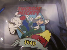 DISNEY 100 YEARS OF DREAMS - TUGBOAT MICKEY 1940 PIN #25