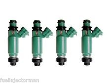 Motor Man - 195500-3290 Denso Flow Matched Fuel Injector Set Suzuki Esteem 1.6L
