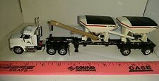 1/64 CUSTOM DCP HIGHLY DETAILED PIONEER SEED TENDER PETERBILT SEMI ERTL FARM TOY