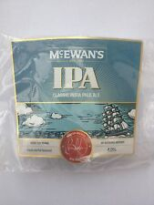 mcewans ipa classic india pale Ale Beer Pump Clip Pub Bar Collectible NEW