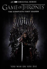 Game of Thrones: The Complete First Season DVD, 2015, 5-Disc Set Free shipping