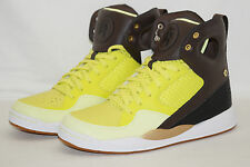 Reebok Court Alicia Keys TG 41 UK 7,5 Verde-Giallo Marrone Nero Bianco