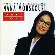 Only Love-The Best Of - Mouskouri,Nana (1991, CD NEUF)