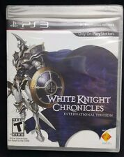 PLAYSTATION 3 PS3 GAME WHITE KNIGHT CHRONICLES INTERNATIONAL EDITION
