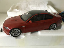 BMW M3 E92 RED DEALER EDITION BMW KYOSHO 1/18 80430422603