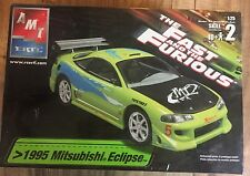 ETRL The Fast and Furious 1995 Mitsubishi Eclipse 1:25 Model Kit Factory Sealed