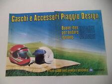 advertising Pubblicità 1986 CASCO AGV PIAGGIO DESIGN