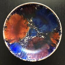 Fine Old Chinese Porcelain Pottery Bowl Polychrome Multi Color Art RARE