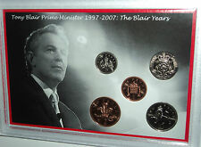 Tony Blair The Downing Street Years Prime Minister Labour Party Coin Gift 1997