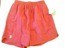 "NOS TYR Deck Volleyball Beach Shorts Size Small 30""-34"" Waist Maroon Orig Tag"