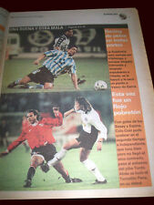 SOCCER VASCO DA GAMA 1 vs RACING 1 SUPER CUP 1997 - Ole newspaper