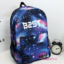 BEAST B2ST BAG BACKPACK SCHOOLBAG BLUE KPOP NEW