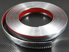 21mm x 2,45m CHROME CAR STYLING MOULDING STRIP TRIM For Peugeot 205 206 07