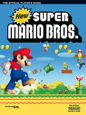 New  Super Mario Bros  Official Guide for nintendo ds NEW SEALED