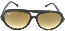 New Authentic Ray Ban RB4125 710/51 Cats 5000 59mmBrown Grad Lens Tortoise Frame