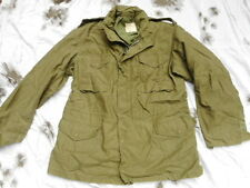 ORIGINAL US army M65 M 65 COAT FIELD jacket 1968 VIETNAM WAR OG107 LL LARGE