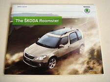Skoda . Roomster . The Skoda Roomster . January 2014 Sales Brochure