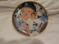Vintage Baseball The Hamilton Collection MICKEY MANTLE Numbered Yankees Plate
