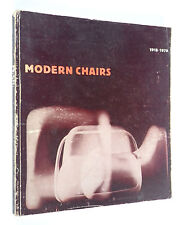Book Modern Chairs 1918-1970 Magistretti Eames Kukkapuro Kjaerholm Breuer Heath