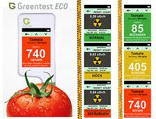 Greentest ECO 2 in 1 Misuratore di radiazioni dosimetro e nitrati TESTER SOEKS simile