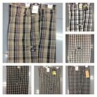 """Dickies WR978 Regular Fit Multi-Use Pocket 13"""" Casual Plaid Short Sizes 32-48"""