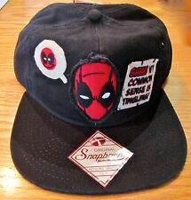 Deadpool Wade Winston Wilson Vintage Adjustable Hat Marvel Comics Brand New