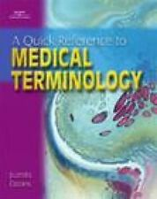 Quick Reference For Medical Terminology Juanita J. Davies (Paperback)