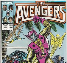 The AVENGERS #278 with Captain America & Wasp from Apr. 1987 in VF- con. DM