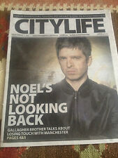 Noel Gallagher City Life Cover Clippings Manchester Concert Ticket UK Promo