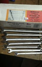 L@@k!!! 7 pc Williams wrench set sae 6 point boxed end us-wcsb007 New