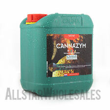 Canna Cannazym 5 Liter Enzyme Additive Hydroponic Nutrient 5L