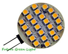 G4 24 SMD LED 12V AC/DC 1.9W 130LM WARM WHITE BULB ~20W