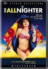 THE ALLNIGHTER (1987 Susanna Hoffs) -  DVD - REGION 1 - SEALED