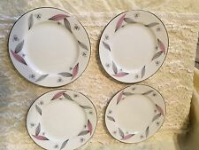 Narumi Serenade 6 1/2 in Bread Plates, Set of 4, Beautiful Pattern! Excellent!