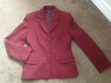 BNWOT Ladies size 10 Marks & Spencer mulberry Wool tweed Jacket -skirt available