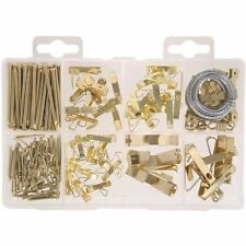 206-PIECE PICTURE HANGING KIT - PICTURE HANGER ASSORTMENT - FREE SHIPPING