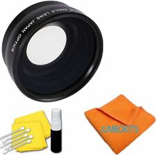 New .42 Fisheye Lens + MACRO For Canon EOS Rebel 300D 350D T3 T3I T4 T4I T5 T5I