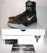 Nike Air Kobe 9 IX Elite Master Piece Multi Color Sneakers Men's Size 11.5 New