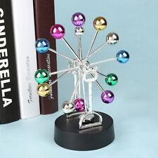 Newtons Cradle Fun Steel Balance Balls Physics Pendulum DIY Decoration Accessory