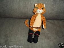 PLUSH DOLL FIGURE TY PUSS IN BOOTS SHREK  BEAN BAG COLLECTIBLE CAT