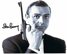 Sean Connery - James Bond - Autogramm Autogrammkarte - Autograph Photo