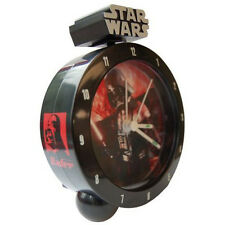 STAR WARS - Darth Vader 18cm Bedside Alarm Clock (Wesco) #NEW