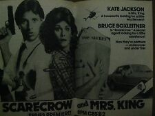 1983 TV Guide(GREGORY HARRISON/MEG RYAN/SCARECROW AND MRS. KING/THE YELLOW ROSE)