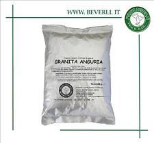 Granita anguria 25 buste 630 gr. 4 lt. per granitore sorbettiera da bar